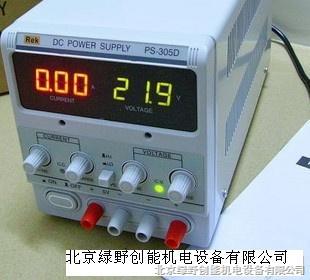 直流稳压电源ps-305d